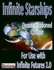 IF Starship Deck Plans: Decommissioned Cruiser (PFRPG) PDF