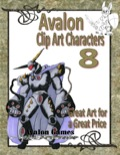 Avalon Clip Art Characters #8: Star Knight 3 PDF
