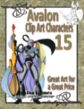 Avalon Clip Art Characters #15: Star Knight 4 PDF