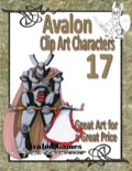 Avalon Clip Art Characters #17: Star Knight 5 PDF