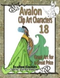 Avalon Clip Art Characters #18: Elf 2 PDF