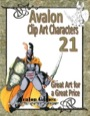 Avalon Clip Art Characters #21: Star Knight 6 PDF