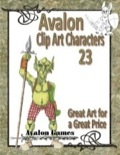 Avalon Clip Art Characters #23: Goblins 3 PDF