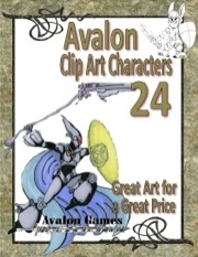 Avalon Clip Art Characters #24: Star Knight 7 PDF