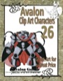 Avalon Clip Art Characters #26: Star Knight 8 PDF
