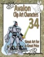 Avalon Clip Art Characters #34: Star Knight 9 PDF