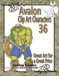 Avalon Clip Art Characters #36: Orc 2 PDF