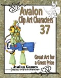 Avalon Clip Art Characters #37: Sci-Fi Girl PDF