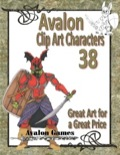 Avalon Clip Art Characters #38: Death Knight PDF