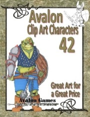 Avalon Clip Art Characters #42: Orc 3 PDF