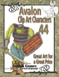 Avalon Clip Art Characters #44: Orc 4 PDF
