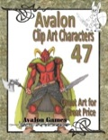 Avalon Clip Art Characters #47: Dark Warrior 2 PDF