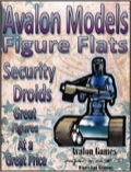 Avalon Models—Figure Flats: Security Droids PDF