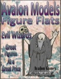 Avalon Models—Figure Flats: Evil Wizards PDF