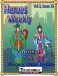 Heroes Weekly, Vol. 3, Issue #18: Youxia and Zhang Bao Daifu (PFRPG) PDF