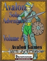 Avalon Solo Adventures, Volume #1: Fighter (PFRPG) PDF