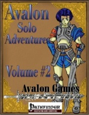 Avalon Solo Adventures, Volume #2: Rogue (PFRPG) PDF