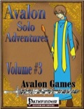 Avalon Solo Adventures, Volume #3: Cleric (PFRPG) PDF