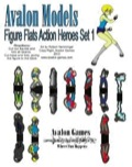 Avalon Models—Figure Flats: Action Heroes PDF