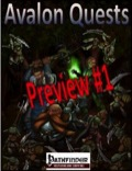 Avalon Quests (PFRPG) Preview PDF