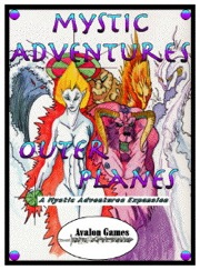 Mystic Adventures: Outer Planes PDF