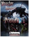 Monster Hunters (PFRPG) Preview PDF