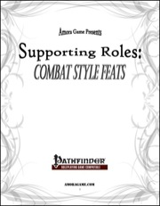 Supporting Roles: Combat Style Feats (PFRPG) PDF