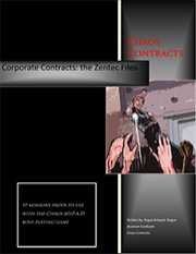 Chaos Contracts #1: The Zentec Files PDF