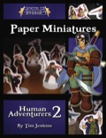 Battle! Studio Paper Minis: Human Adventurers 2 PDF
