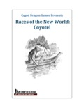 Races of the New World: Coyotel (PFRPG) PDF