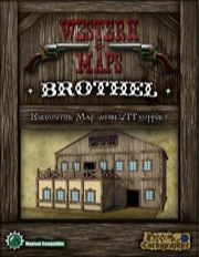 Western Maps: Brothel Map Pack PDF