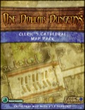 One Dollar Dungeon: Cleric's Cathedral Map Pack PDF