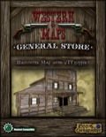 Western Maps: General Store Map Pack PDF