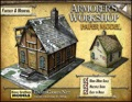 Armorer's Workshop Paper Model PDF