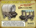 Abandoned Wagon 30mm Paper Model PDF
