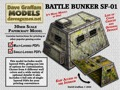 Battle Bunker SF-01 Paper Model PDF