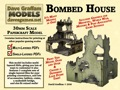 Bombed House 30mm Paper Model PDF