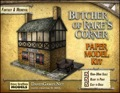 Butcher of Rake's Corner Paper Model PDF