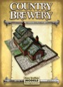 Country Brewery Paper Model PDF