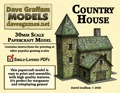 Country House 30mm Paper Model PDF