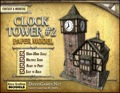 Clock Tower #2 Paper Model PDF