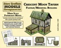 Crescent Moon Tavern 30mm Paper Model PDF