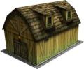 Dutch Barn 28mm/30mm Paper Model PDF