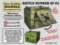 Battle Bunker SF-02 30mm Paper Model PDF