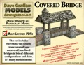 Covered Bridge 30mm Paper Model PDF
