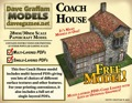 Coach House 30mm Paper Model PDF