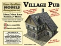 Village Pub 30mm Paper Model PDF
