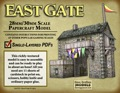 East Gate 28mm/30mm Paper Model PDF