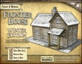 Frontier House Winter Edition Paper Model PDF