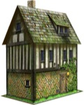Grey Hare Inn 28mm/30mm Paper Model PDF